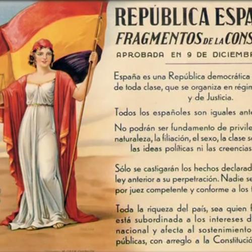Constitution de la Republique Espagnole.