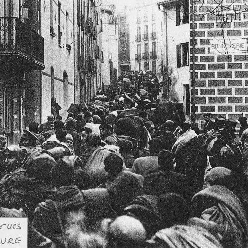 En mars 1939, le département des Pyrénées-Orientales comptait plus de réfugiés que d'habitants.