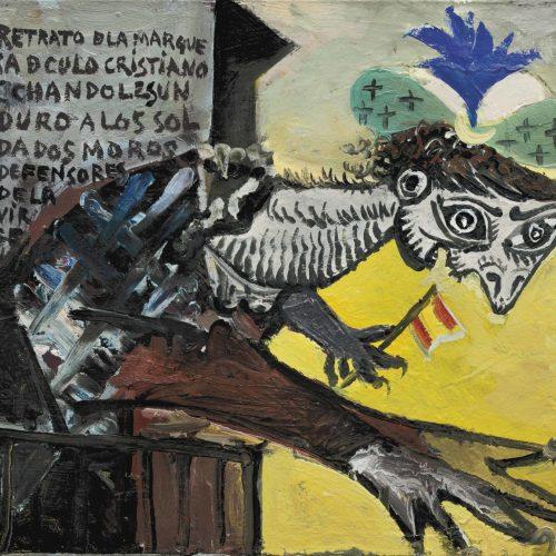 Figure de femme inspirée par la guerre d'Espagne - Picasso - Janvier 1937