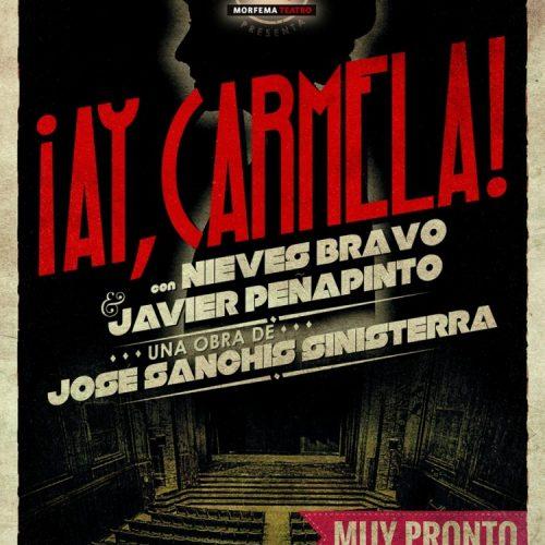 """Affiche d'une des nombreuses versions d'""""Ay Carmela !"""""""