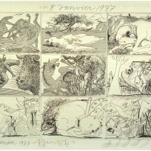Picasso - Songe et mensonges de Franco - 1.